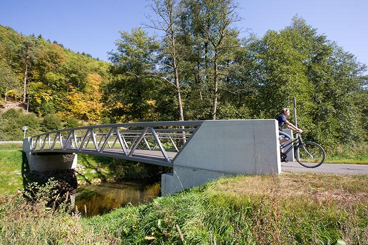 Radbrücke Erftal
